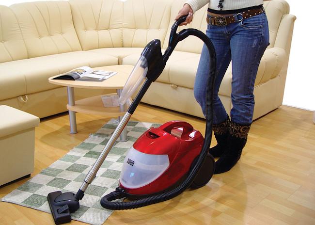 Merawat Vacuum Cleaner